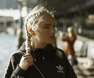 adidas, blogger, and braids image