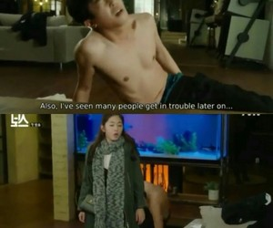 couple, introverted boss, and quote image