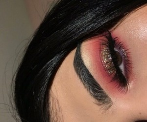 make up, makeup, and cutcrease image