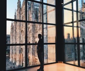 italy, man, and shadows image