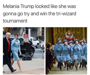 blue, harry potter, and president image