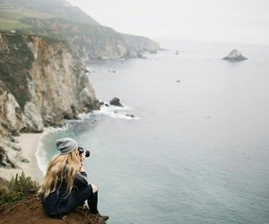 girl, nature, and photograph image