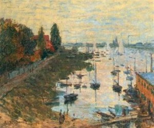 aesthetics, art, and claude monet image