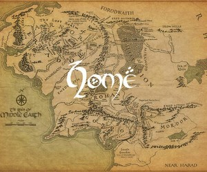 hobbit, home, and lord of the rings image