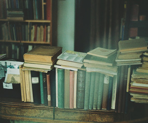 book, books, and film image