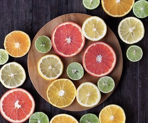 color, fitness, and food image
