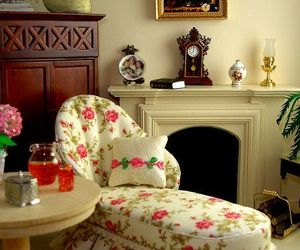 dolls house and my style shabby chic image