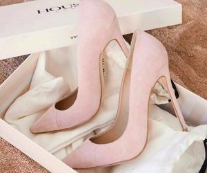 high heels, shoes, and pastel image