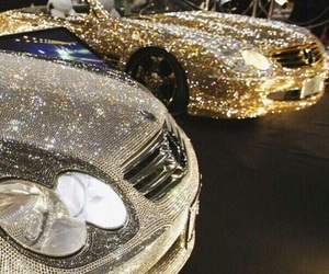 car, mercedes, and diamond image