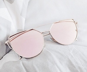 sunglasses, accessories, and pink image