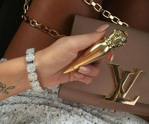 fashion, luxury, and nails image