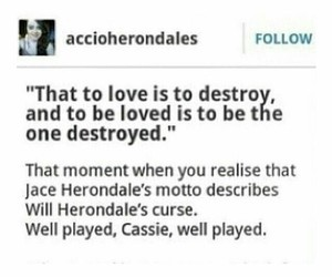 the mortal instruments, omf, and jace herondale image