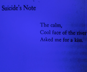 kiss, suicide, and note image