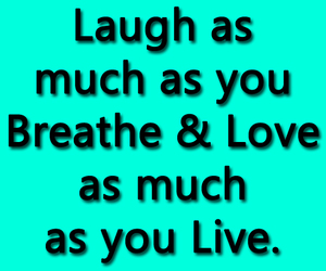 laugh, life, and life lessons image