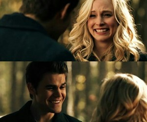 stefan salvatore, paul wesley, and steroline image