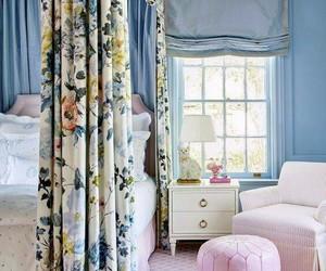 blue, interior, and princess image