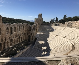 Athens, Greece, and teatro image