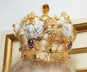 crown, fashion, and gold image