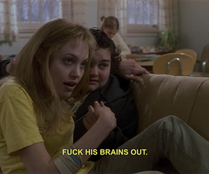 girl interrupted, grunge, and Angelina Jolie image