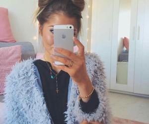 fashion, cabello, and moda image