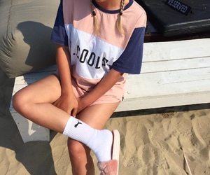 fashion, puma, and beach image