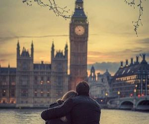 couple, london, and cute image
