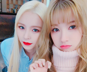 elkie, clc, and seunghee image