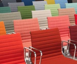 chairs and rainbow image