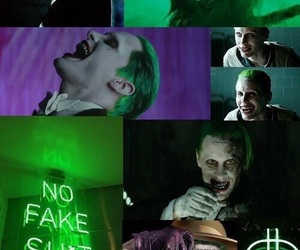 the joker, 😈, and 💚 image