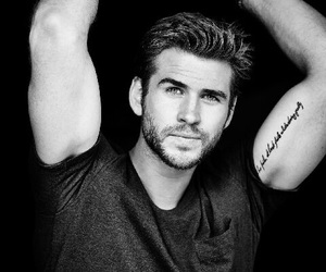 liam hemsworth, handsome, and Hot image