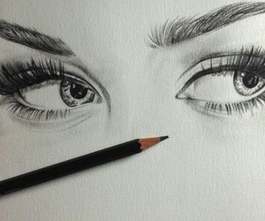 draw, drawing, and art image