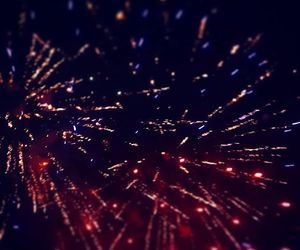 fireworks, sparkles, and night image