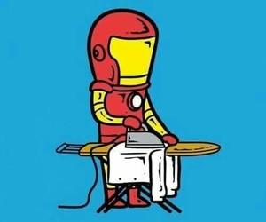 iron man, funny, and ironman image