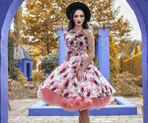 beautiful, petticoat, and summer image