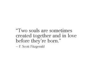 f. scott fitzgerald, quote, and love image