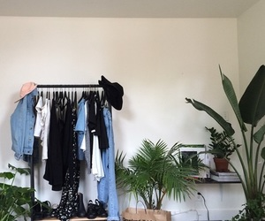 plants, grunge, and room image