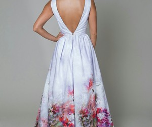 beautiful, violet, and dress image