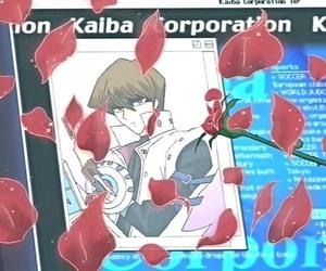 anime, vs, and seto kaiba image