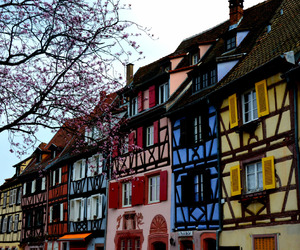 buildings, colors, and Houses image
