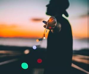 lights, boy, and tumblr image