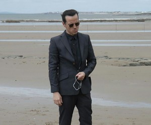 andrew scott and bts image