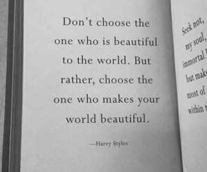 quotes, Harry Styles, and words image