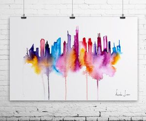 aesthetic, art, and city image
