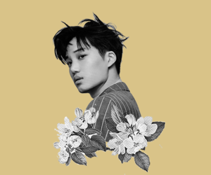 edit, jongin, and exo image