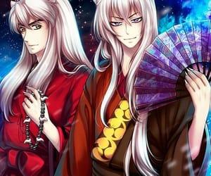 anime, inuyasha, and tomoe image