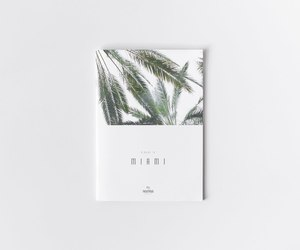 book, green, and Miami image