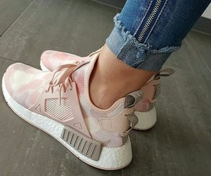pink, trainers, and shoes image