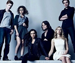 vampire academy, zoey deutch, and lucy fry image