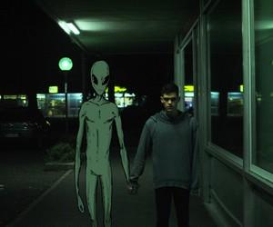 alien, alternative, and boy image