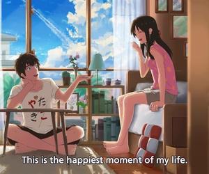 anime, couple, and kimi no na wa image